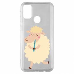Чехол для Samsung M30s Sheep with flute