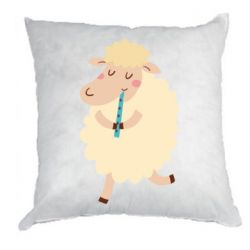 Подушка Sheep with flute - FatLine