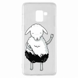 Чохол для Samsung A8+ 2018 Sheep
