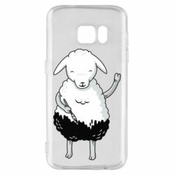 Чохол для Samsung S7 Sheep