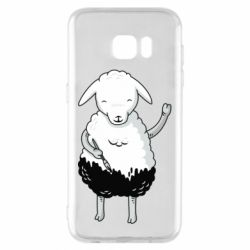 Чохол для Samsung S7 EDGE Sheep