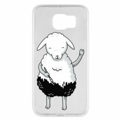 Чохол для Samsung S6 Sheep