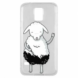 Чохол для Samsung S5 Sheep