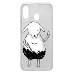 Чохол для Samsung A20 Sheep