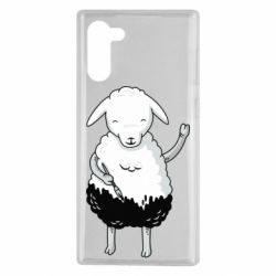 Чохол для Samsung Note 10 Sheep