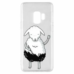 Чохол для Samsung S9 Sheep