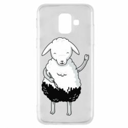 Чохол для Samsung A6 2018 Sheep
