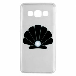 Чехол для Samsung A3 2015 Shell with a pearl
