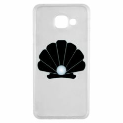 Чехол для Samsung A3 2016 Shell with a pearl