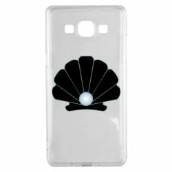 Чехол для Samsung A5 2015 Shell with a pearl