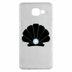 Чехол для Samsung A5 2016 Shell with a pearl