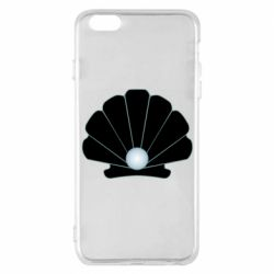Чехол для iPhone 6 Plus/6S Plus Shell with a pearl