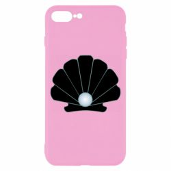 Чехол для iPhone 8 Plus Shell with a pearl