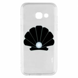 Чехол для Samsung A3 2017 Shell with a pearl