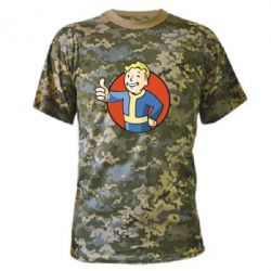Камуфляжная футболка Shelter - FatLine