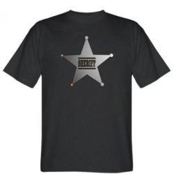 Мужская футболка Sheriff - FatLine