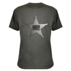 Камуфляжная футболка Sheriff - FatLine