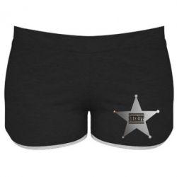 Женские шорты Sheriff - FatLine
