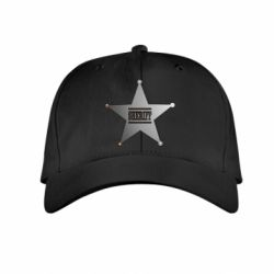 Детская кепка Sheriff - FatLine