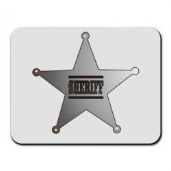 Коврик для мыши Sheriff - FatLine