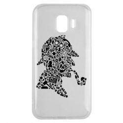 Чохол для Samsung J2 2018 Sherlock Holmes