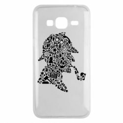 Чохол для Samsung J3 2016 Sherlock Holmes