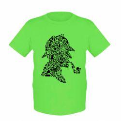 Дитяча футболка Sherlock Holmes