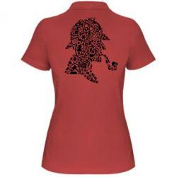 Жіноча футболка поло Sherlock Holmes