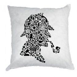 Подушка Sherlock Holmes