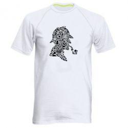 Чоловіча спортивна футболка Sherlock Holmes