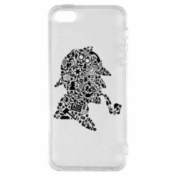 Чохол для iphone 5/5S/SE Sherlock Holmes