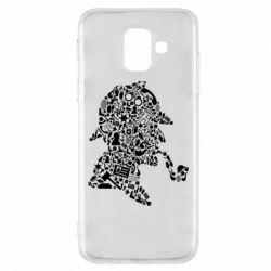 Чохол для Samsung A6 2018 Sherlock Holmes
