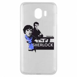 Чехол для Samsung J4 Sherlock (Шерлок Холмс)
