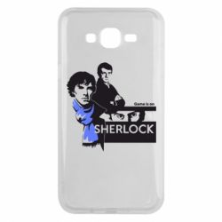 Чехол для Samsung J7 2015 Sherlock (Шерлок Холмс)