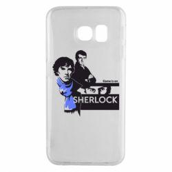 Чехол для Samsung S6 EDGE Sherlock (Шерлок Холмс)