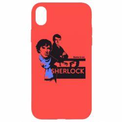 Чехол для iPhone XR Sherlock (Шерлок Холмс)