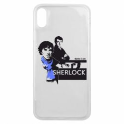 Чехол для iPhone Xs Max Sherlock (Шерлок Холмс)