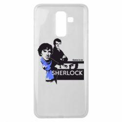Чехол для Samsung J8 2018 Sherlock (Шерлок Холмс)