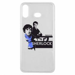 Чехол для Samsung A6s Sherlock (Шерлок Холмс)