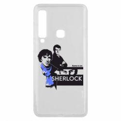 Чехол для Samsung A9 2018 Sherlock (Шерлок Холмс)