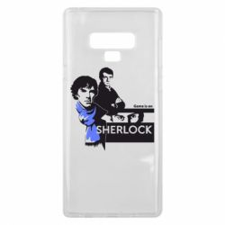 Чехол для Samsung Note 9 Sherlock (Шерлок Холмс)
