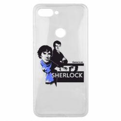 Чехол для Xiaomi Mi8 Lite Sherlock (Шерлок Холмс)