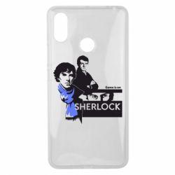 Чехол для Xiaomi Mi Max 3 Sherlock (Шерлок Холмс)