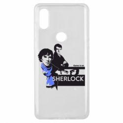 Чехол для Xiaomi Mi Mix 3 Sherlock (Шерлок Холмс)