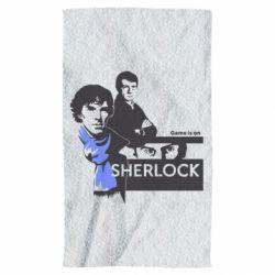 Полотенце Sherlock (Шерлок Холмс)