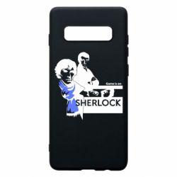 Чехол для Samsung S10+ Sherlock (Шерлок Холмс)