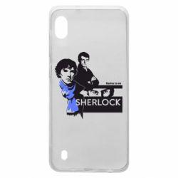 Чехол для Samsung A10 Sherlock (Шерлок Холмс)