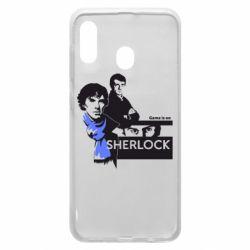 Чехол для Samsung A30 Sherlock (Шерлок Холмс)