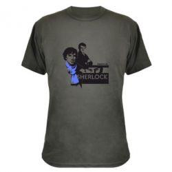 Камуфляжная футболка Sherlock (Шерлок Холмс) - FatLine