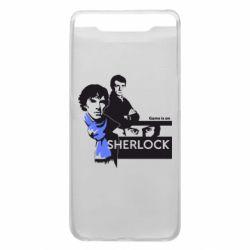 Чехол для Samsung A80 Sherlock (Шерлок Холмс)
